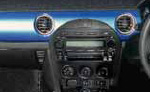Replacement Dash Panel in Winning Blue