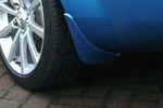 Winning Blue Pre Painted Front and Rear Mud Flaps
