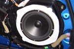 "Door Speaker Baffle to Accomodate 6.5"" Woofer"